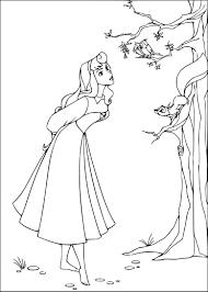 Coloriage Princesse Belle Au Bois Dormant Imprimer Sur