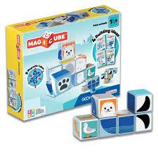"""Магнитные кубики <b>Geomag Magicube</b> """"<b>Полярные</b> животные ..."""