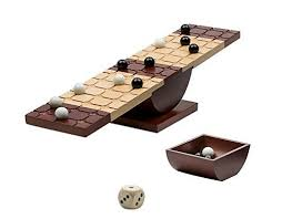 Game With Rocks And Wooden Board Interesting Rock Me Archimedes Game Strategy Marbles Game Find Out More About