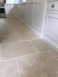 Kitchen Floor Stone Tiles Paris Grey Tumbled Limestone Kitchen Floor Tiles Http Www