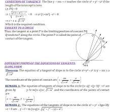 tangent to a circle math formulas mathematics formulas basic math formulas