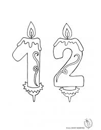 Small Picture Birthday Candles Coloring Coloring Pages