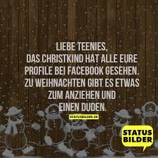 Liebe Teenies Das Christkind Hat Alle Eure Profile Bei Facebook