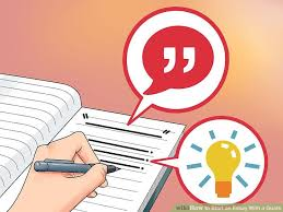 how to start an essay a quote steps pictures  image titled start an essay a quote step 13