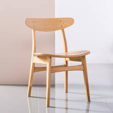 astrid solid oak dining chair oak seat dots backrest