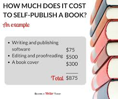 Publisher Photo Books How Much Does It Cost To Self Publish A Book