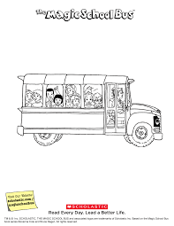 Small Picture The Magic School Bus Printable Liz Peeking Scholasticcom
