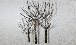 dining room accessories ideas kohl39s metal tree wall art
