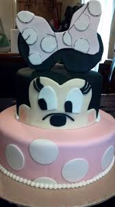 Minnie Mouse Birthday Cake For Baby Girl Turning 1 Cakecentralcom