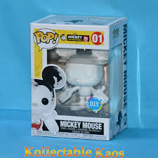 disney diy mickey mouse 90th anniversary pop vinyl figure rs 01