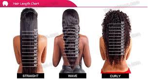 Braid Length Chart Ciara Blonde Highlights Silky Straight Glueless Full Lace