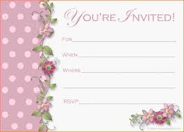 Free Birthday Invitations Invitation Invitations Template Techcommdood Com