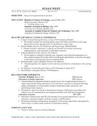 New Grad Nurse Cover Letter Example Lpn Sample Free Resumes