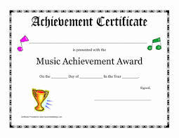 Blank Award Certificate Templates Downloadable Printable