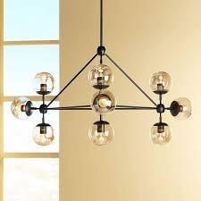 possini euro gable 44 wide 10 light black chandelier canada intended for lighting plan 19