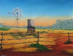 murphy s windmill painting 36x46x0 2 cm 2016 by david o halloran