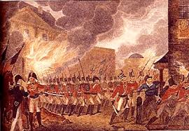 Image result for 1814 washington white house in fire