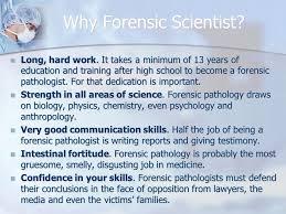 Forensic Pathologist Acheh Fonkem Educational Requirements Helpful