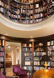 home library office. Round Library Design Connection Inc Kansas City Interior Designer Home Office