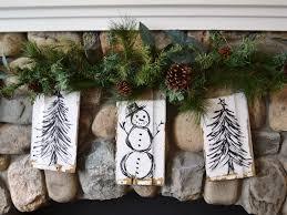 Christmas Rustic Christmas Decor Decorations To Make