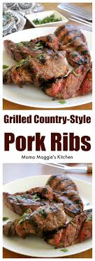 Honey Barbecued Ribs Recipe  Taste Of HomeGrilled Country Style Pork Ribs Recipe