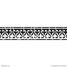 wall boarder stencils border stencils for painting ceiling or wall with classic traditional designs custom stencils wall border stencils