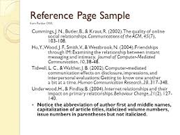 Collection Of Solutions Purdue Owl Apa Reference Page Format Epic