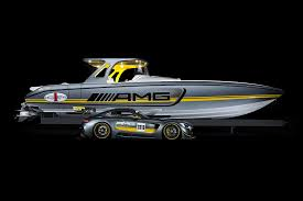 Cigarette Boat Design Mercedes Amgs Gt3 Has Inspired A Performance Boat