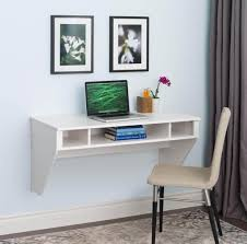 Furniture: Affordable Wall Mount Floating Desk For Laptop With Chair And  Decorative Wall Picture Floating