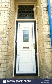 white double front door. Front Doors White Eclectic Composite Door Design House Black Shutters: Full Size Double A