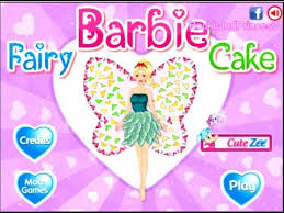 fairy barbie cake decorations game barbie cooking games youtube