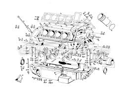 maserati qtp v8 4 9 s3 1979 order online eurospares v8 4 9 s3 1979 engine housing diagram