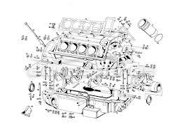 maserati qtp v8 4 9 s3 1979 order online eurospares v8 4 9 s3 1979 engine housing diagram