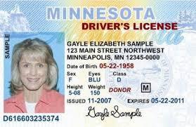 Startribune Minnesota Lady Happy Birthday Driver's To The com - License