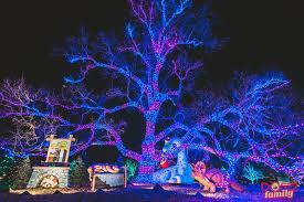 Zilker Park Christmas Lights Trail Of Lights Austin Texas
