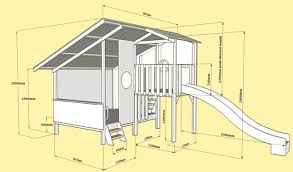 mega triplex cubby 3d plan and layout