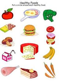 Junk Food Healthy Food Chart Health Worksheets For Kindergarten Health And Nutrition
