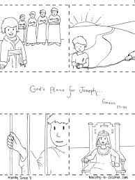 It has an additional 5 sheets of patriotic illustrations for kids. Joseph Coloring Pages