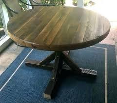 48 round kitchen table sets home styles pedestal antique off white off white pedestal dining table
