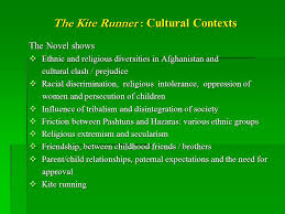 the kite runner by khaled hosseini historical political and the kite runner cultural contexts