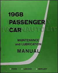 1968 mercury wiring diagram original marquis monterey montclair 1968 ford lincoln mercury maintance lubrication manual original