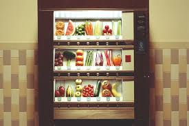 Vending Machine Store Stunning The 'Speedy Shop' Vending Machine Brings Grocery Basics To Food Deserts