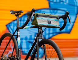 Topo Designs Bike Bag All City X Topo Designs Handlebar Bag