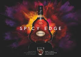 Hennessy Design Hennessy Spicy Edge Design Campaign Wine Poster Photo