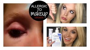 UPDATE: I'm Allergic to Makeup | Lash Glue - YouTube