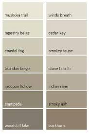 Beige Color Chart Benjamin Moore Beige Color Chart Bedowntowndaytona Com