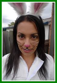 amazing rabbit makeup theme me costume fancy dress u party inspiration picture for bunny styles and