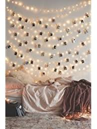 50 LED Photo Clip String Lights Home Decor Indoor/Outdoor, Battery Powered String  Lights