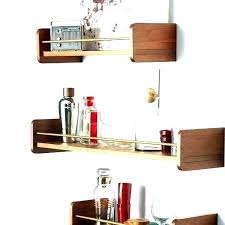mid century modern wall shelf west elm shelves shelving unit diy