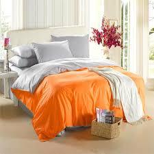 orange silver grey bedding set king size queen quilt doona duvet orange duvet cover queen